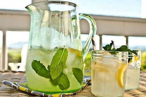 Натуральный энергетический напиток с мятой