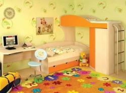 Советы по декорированию стены детской комнаты