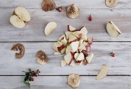 Яблочный смузи с карамельным сиропом