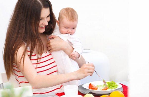 Диета для кормящих мам. Первые месяцы после родов