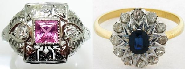 Ювелирные украшения и бижутерия в стиле Ар-деко
